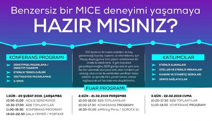 ACE OF M.I.C.E. EXHIBITION BY TURKISH AIRLINES GÜN SAYIYOR